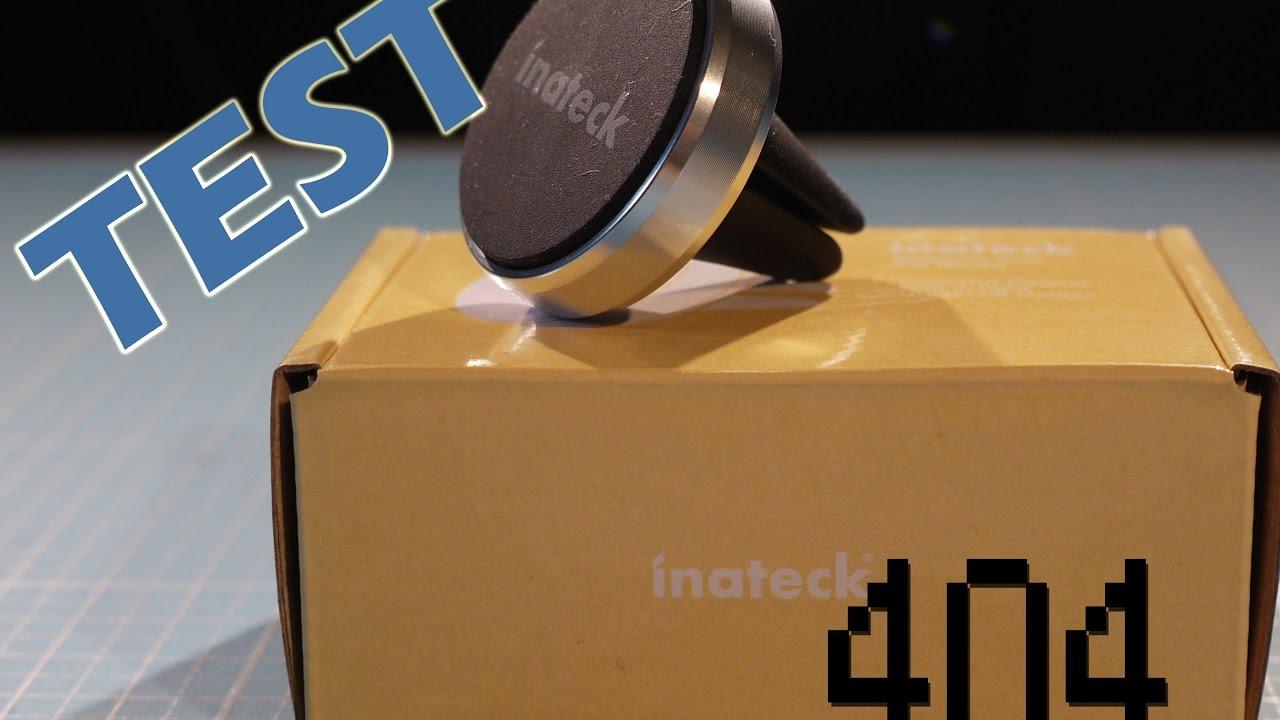 test inateck handyhalterung car mount kfz halterung youtube. Black Bedroom Furniture Sets. Home Design Ideas