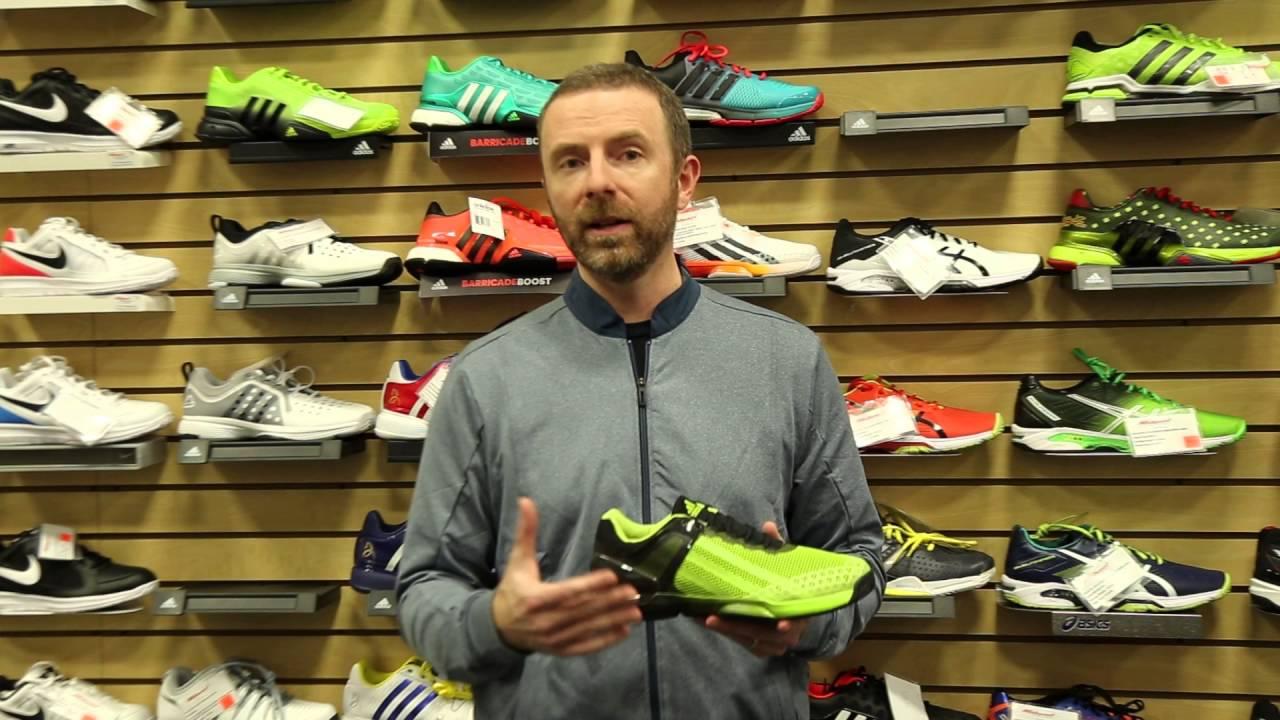 Adidas Adizero Ubersonic Mens Tennis Shoes - YouTube eb5749e27