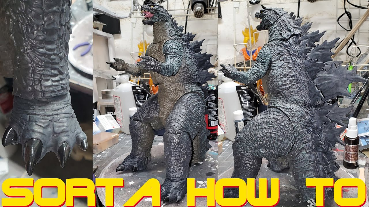 Custom NECA 24 Inch Godzilla 2019/2021 - Legenday King Of The Monsters/GVK - Sorta How To