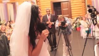 Невеста читает стих
