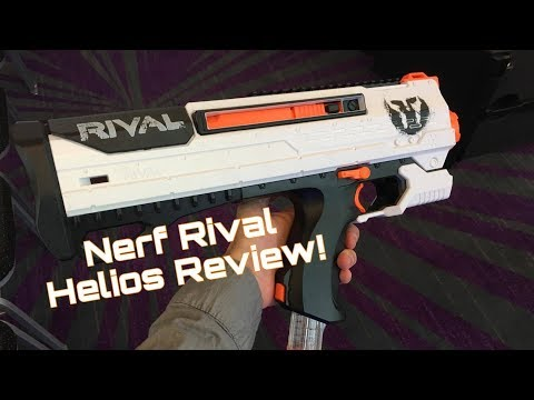 First Review: Nerf RIVAL HELIOS!!! (Bolt Action Primary)