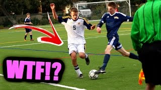 REF QUITS DURING GAME!! (MY DAD GETS A RED CARD!) | IRL SCHOOL FOOTBALL / SOCCER HIGHLIGHTS s.2 ep.5
