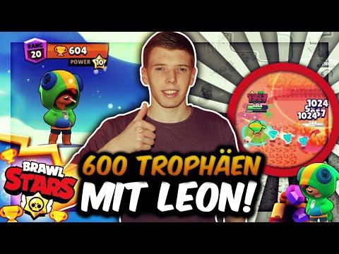 600 TROPHÄEN MIT LEON!   TOP 20 DEUTSCHLANDS  - MEIN BESTER BRAWLER?!   Brawl Stars Deutsch