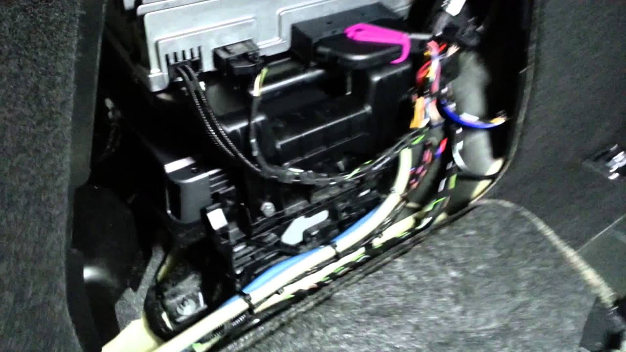 Amp Wiring Diagram For 2006 Passat Audi S4 Stealth Sub Amplifier Install Youtube