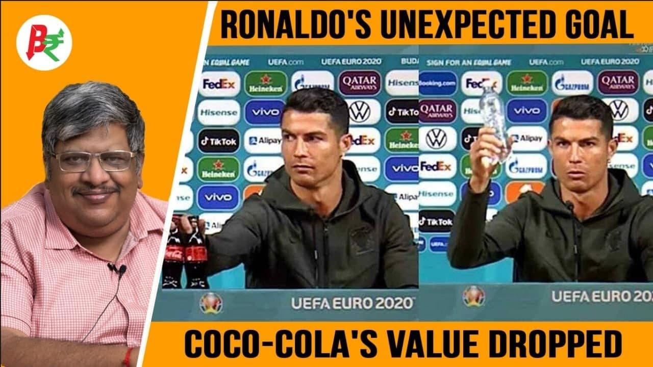 Coca-Cola shares drop $4 billion after Cristiano Ronaldo's gesture ...