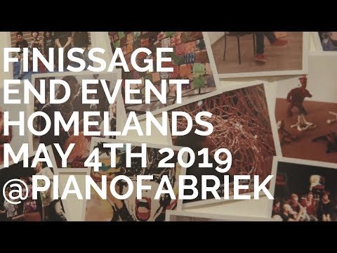 Homelands, places of belonging: END EVENT May 4th