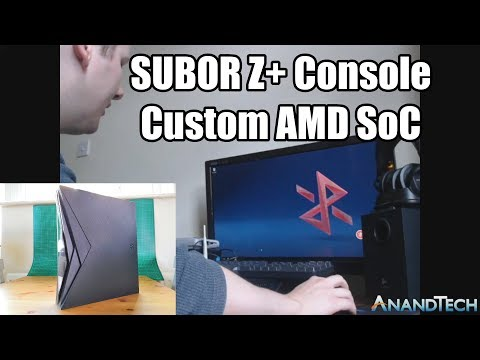 A Quick Look at the Subor Z+ Console/PC Hybrid: A Custom AMD SoC