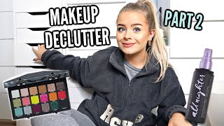 DECLUTTER WITH ME.. MAKEUP PART 2