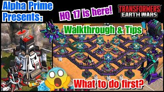 HQ 17 is here! Walkthrough & tips on what to do first. What is Z-Energon? Transformers: Earth Wars