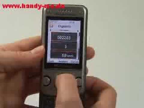 Sony-Ericsson W760i Sport
