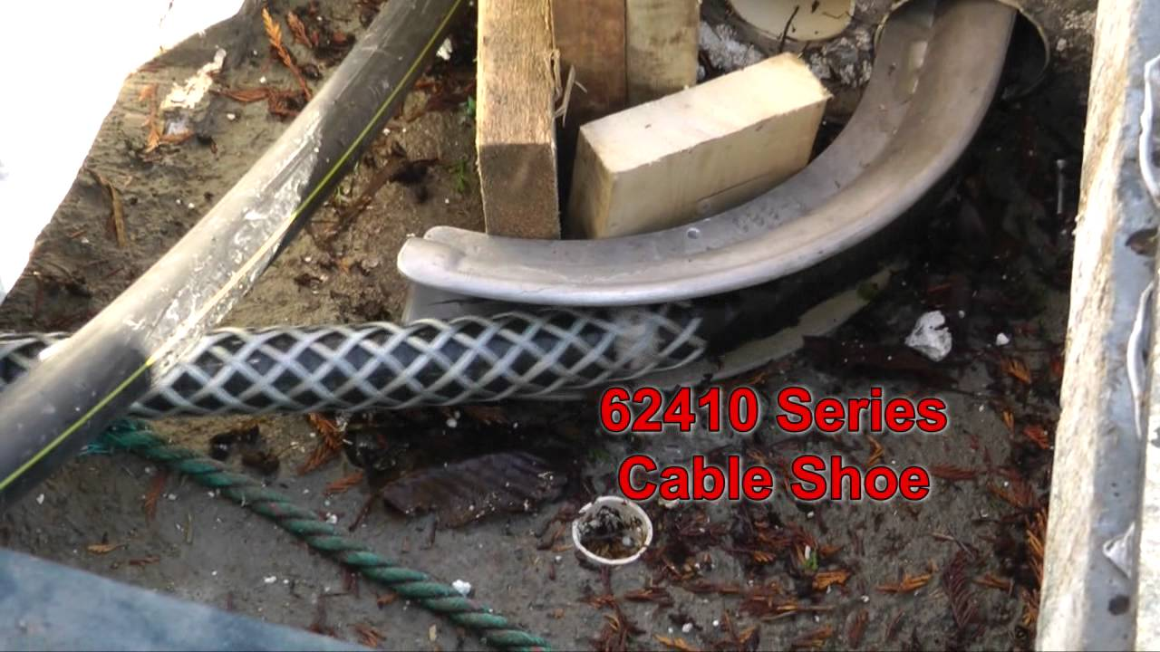 DCD - Marina Electrical Cable Pull - YouTube
