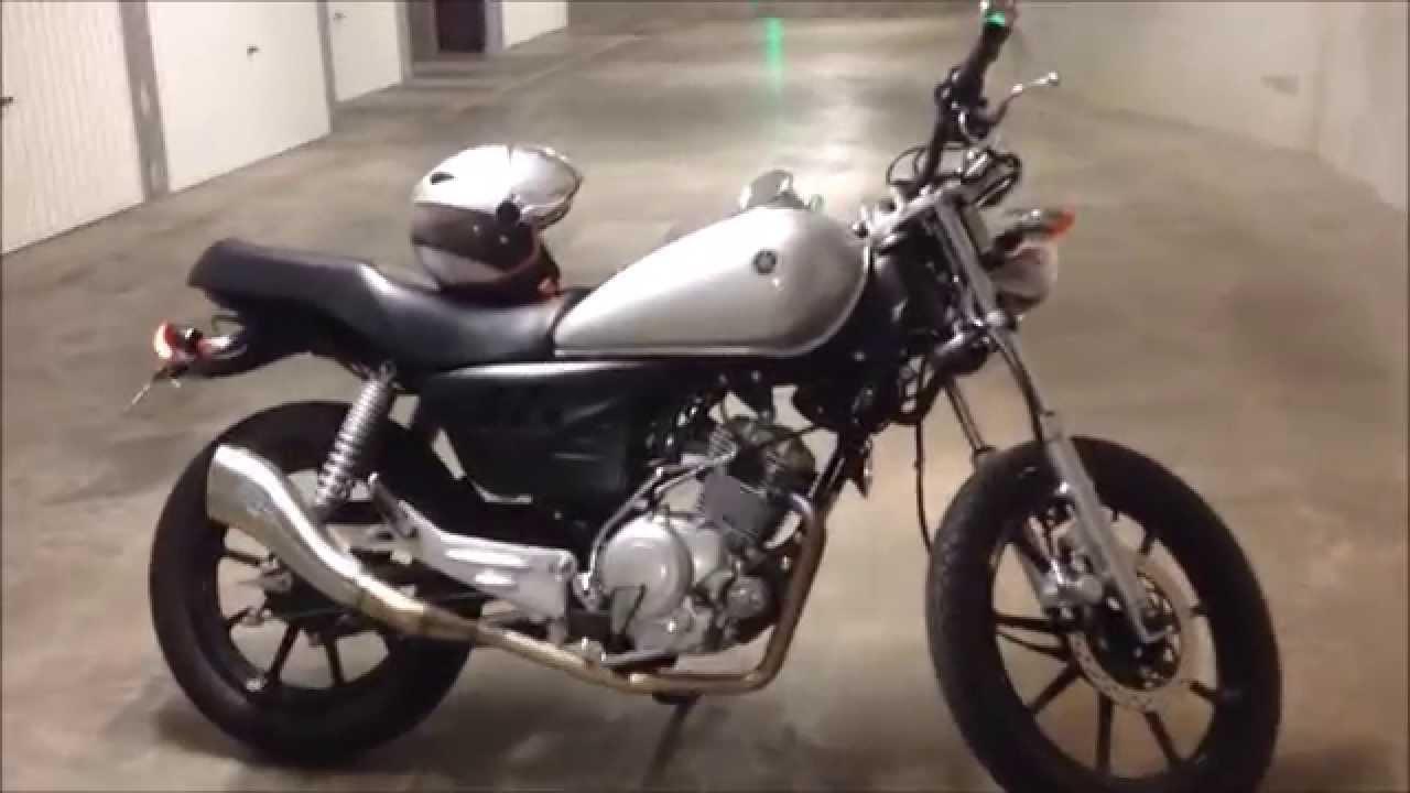 Yamaha YBR 125 Custom & Leovince Cobra Exhaust - YouTube