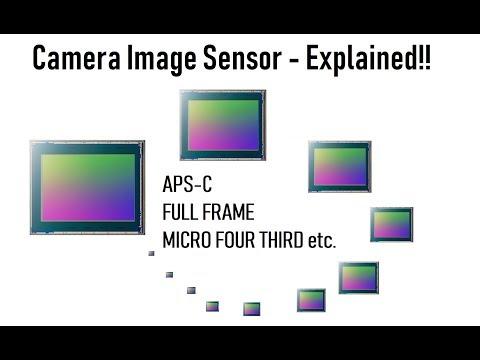 Camera Image Sensor size & details Explained... in Hindi...