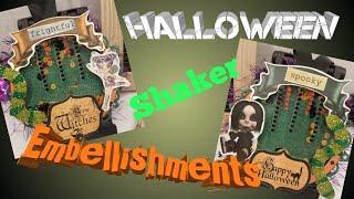 DIY  Hallopween - Shakers - Embellishments - Paper to Masterpiece