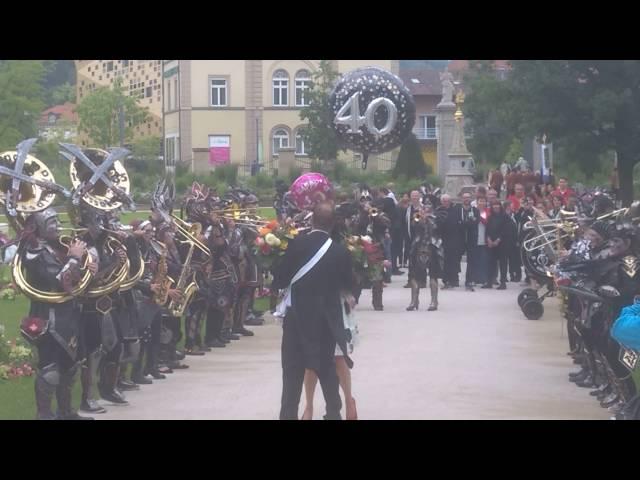 40er-Fest mit Guggenmusik in Schwäbisch-Gmünd