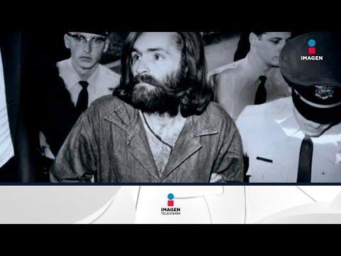 Muere Charles Manson, sus peores momentos y videos | Noticias con Yuriria Sierra