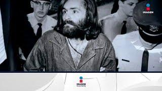 Muere Charles Manson, sus peores momentos y videos   Noticias con Yuriria Sierra