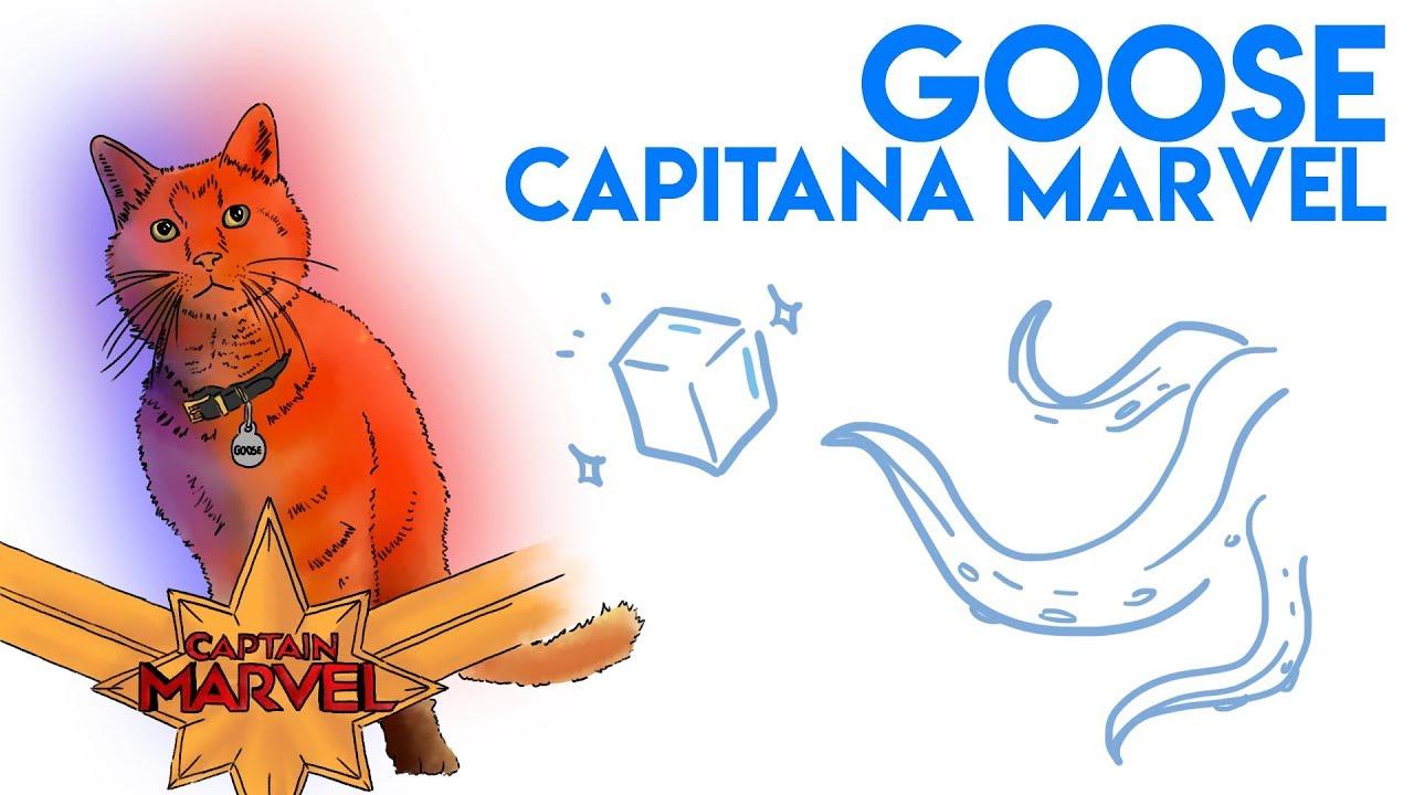 GOOSE de CAPITANA MARVEL: ¿Es un FLERKEN? (Contiene Spoilers)    Draw My Life