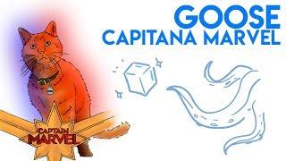GOOSE de CAPITANA MARVEL: ¿Es un FLERKEN? (Contiene Spoilers)  | Draw My Life
