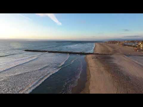 Drone flight RAY-GW198, the 1080P Version of Oceanside CA