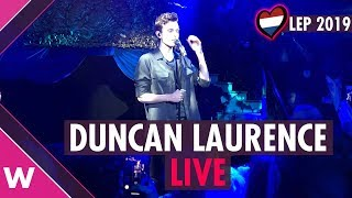 """Duncan Laurence """"Arcade"""" (The Netherlands) LIVE @ London Eurovision Party 2019"""
