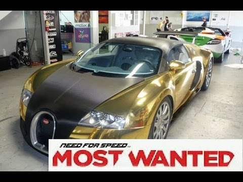 need for speed most wanted 2012 golden bugatti veyron grand sport vitesse race youtube. Black Bedroom Furniture Sets. Home Design Ideas