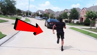 STOLEN CAR PRANK ON COREY !!! Ft. CARMEN (HE CRIES)
