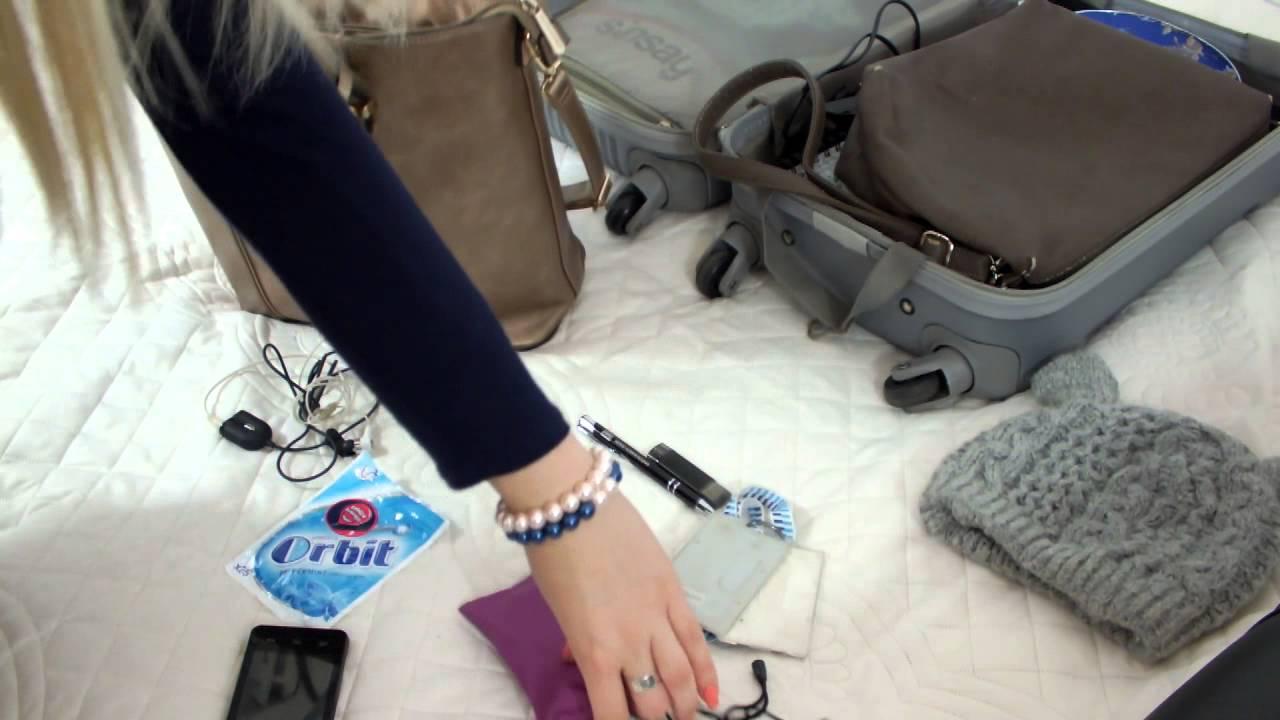 Jak spakowac się w bagaż podręczny do samolotu ✈ ☂PORADNIK☂