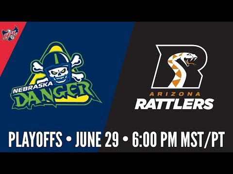 IFL Playoffs | Nebraska Danger at Arizona Rattlers