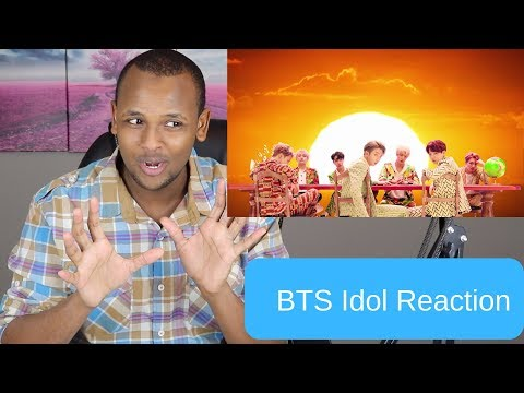 BTS M/V IDOL Is Overwhelming To View... Reaction DOPE