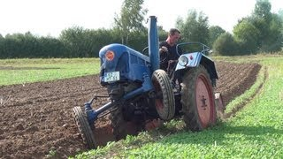 Some Lanz Bulldog Tractors Starting and Plowing Part 3 of 3