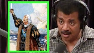Neil deGrasse Tyson - Columbus Discovering America Was a Great Achivement - Joe Rogan