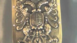 Charles V Holy Roman Empire Shield by Marto of Toledo Spain SFMA970.6S