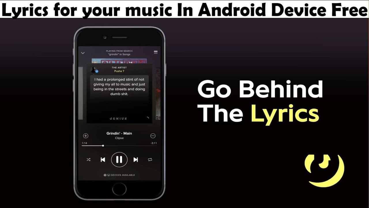 Lyrics for your music In Android Device Free (For All Language) - By Behind Facts