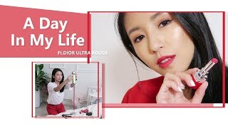A Day In My Life 工作日在做什麼 Ft.DIOR ULTRA ROUGE ♥ Nancy