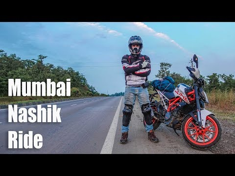 Mumbai to Nashik Ride on 2017 KTM Duke 390