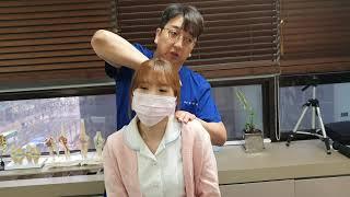 목통증의 가장 흔한원인 견갑거근