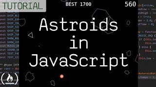 Code Asteroids in JavaScript (1979 Atari game) - tutorial