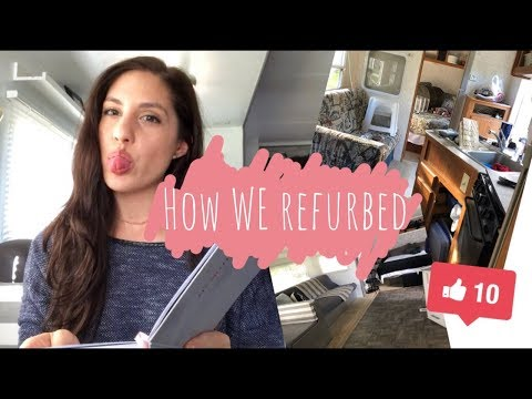 RV Remodel on a BUDGET! What products did we use? DIY