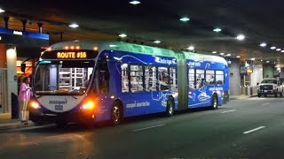 🚍 / 💺 Massport (Boston Logan Airport): 2012 NABI 60-BRT - Articulated (Hybrid) ~ w/ Cummins ISL9-H