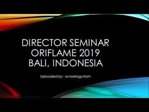 #2. Director Seminar Oriflame Indonesia 2019 dan Gold Conference 2019