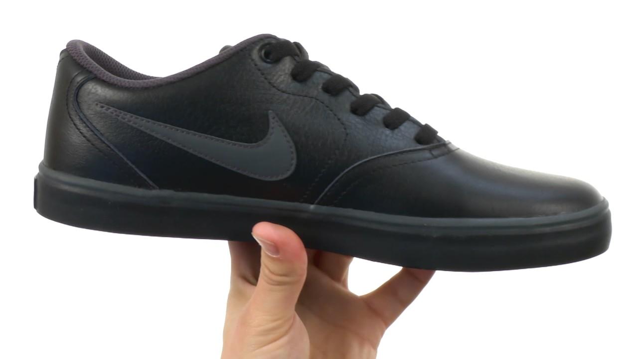 9a63716d7924c0 Nike SB Check Solarsoft Premium SKU 8757621 - YouTube