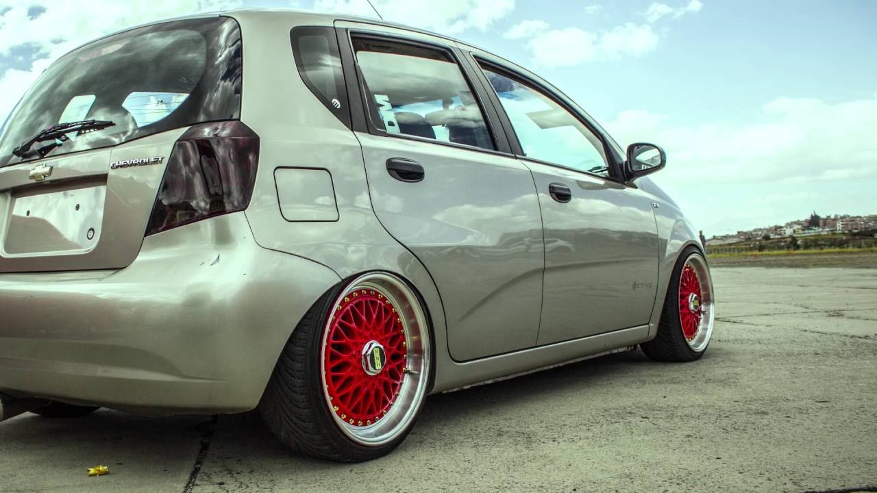 AVEO of STREET - chevrolet aveo lowered - YouTube