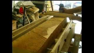 Woodworking - The Heirloom Custom Cabinet-router Jig Milling Part-1
