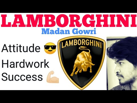 Lamborghini | Tamil | Motivation | Madan Gowri | MG | History