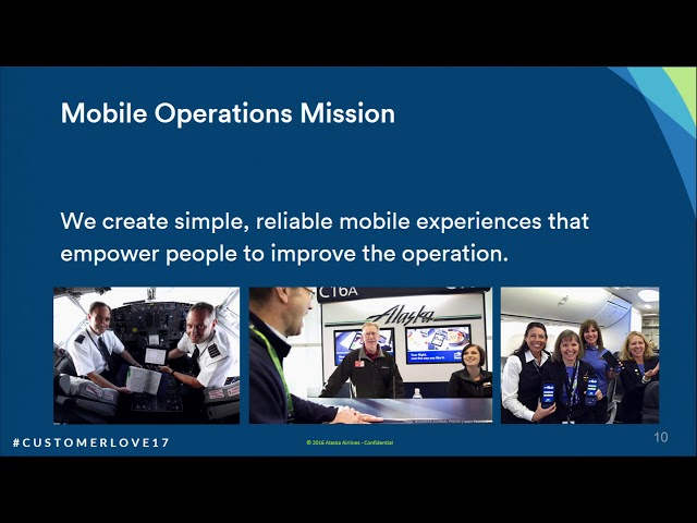 Post for video 'How Alaska Airlines Builds Apps that Employees Love