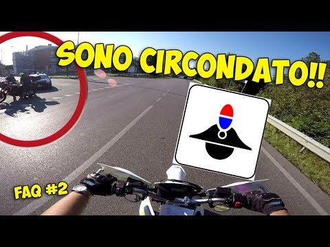 """""""MOTO DOPO IL 701"""" FAQ #2 - CIRCONDATO DA POLIZIA E CARABINIERI!"""