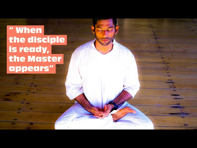 When the disciple is ready, the master appears | Dhyanse