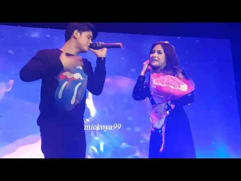 18122016 Ku Tak Bisa cover by Prilly feat Aliando @ Mini Concert Prilly Latuconsina