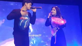 18122016 ku tak bisa cover by prilly feat aliando mini concert prilly latuconsina